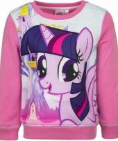 Roze my little pony sweater voor meisjes trend