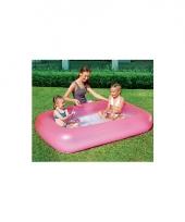 Roze opblaasbaar zwembad trend