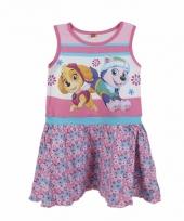 Roze paw patrol jurkje voor kinderen trend