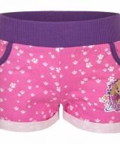Roze paw patrol shorts trend