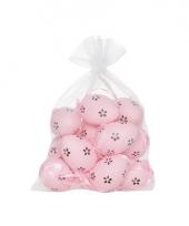 Roze plastic eieren 12 stuks trend