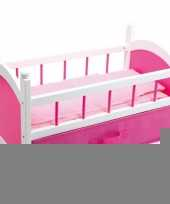 Roze poppenbed 52 cm trend