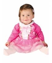 Roze prinsessen jurkje voor babys trend