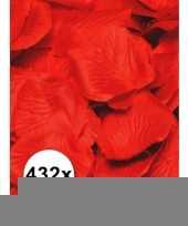 Rozenblaadjes 432 stuks rood trend