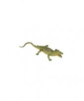 Rubberen gaviaal krokodil 33 cm trend