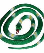 Rubberen slang groen 140 cm trend