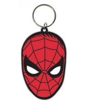 Rubberen sleutelhanger spiderman trend
