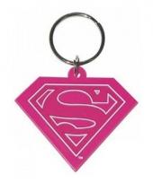 Rubberen sleutelhanger supergirl trend
