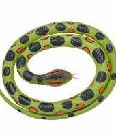 Rubberen speelgoed anaconda slang 117 cm trend