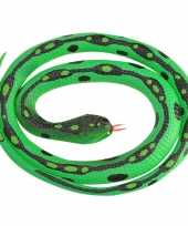 Rubberen speelgoed gras slangen 117 cm trend