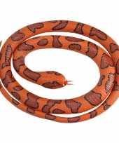 Rubberen speelgoed watermoccasin slangen 117 cm trend