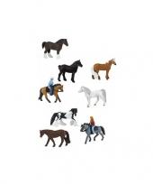 Ruiters en paarden setje trend