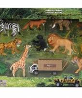 Safari speelset 14 stuks trend