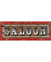Saloon borden 55 x 20 cm trend