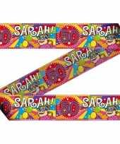 Sarah 50 jaar markeerlint 30x meter trend