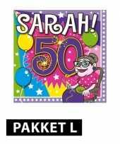 Sarah 50 jaar pakket large trend