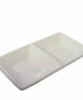 Saus schaal voor sushitje 15 x 8 cm trend