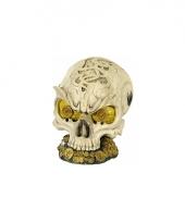 Schatkist schedel spaarpot 14 cm trend