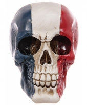 Schedel franse vlag opdruk trend