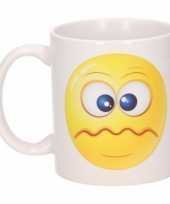 Schele smiley mok beker 300 ml trend