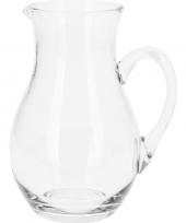 Schenkkan van glas 1 liter trend
