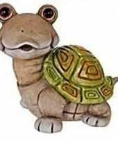 Schildpad tuinbeeld 33 cm trend