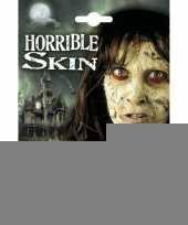Schmink set horror huid trend