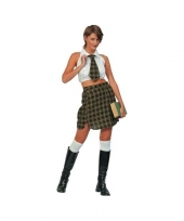 School meisje kostuum trend