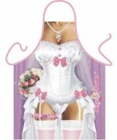 Schort bruid trend