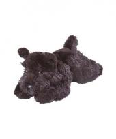 Schotse knuffel terriers zwart 18 cm trend
