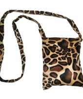 Schoudertasje giraf trend