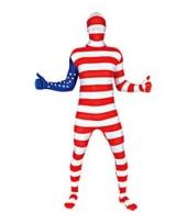 Secon skin pak met amerika vlag trend
