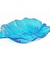 Serveer schaal blauw 22 cm trend