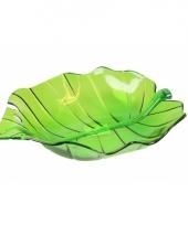 Serveer schaal groen 22 cm trend