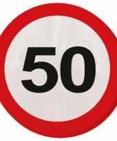 Servet 50 jaar verkeersbord trend