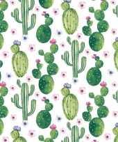 Servetten cactus print 20 stuks trend