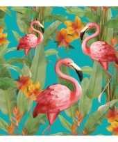 Servetten flamingo s 3 laags 20 stuks trend