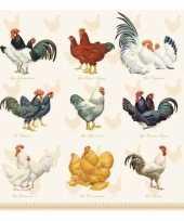 Servetten kip haan pasen 3 laags 20 stuks trend