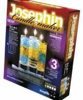 Set om kaarsen in glas te maken trend