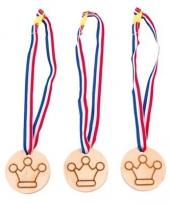 Setje van 3 winnaar medailles trend