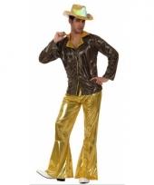 Seventies kostuum goud trend