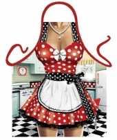 Sexy schort keukenmeid trend