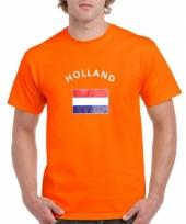 Shirts met vlag van holland trend