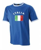 Shirts met vlag van italie heren trend