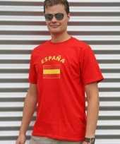 Shirts met vlag van spanje heren trend