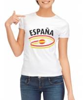 Shirts met vlaggen thema spanje dames trend