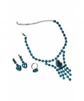 Sieraden voor een prinses turquoise trend