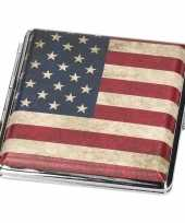 Sigarettendoosje amerikaanse vlag trend