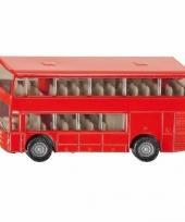 Siku dubbeldekker bus speelgoed modelauto 10 cm trend