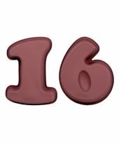 Siliconen bakvormen cijfer 16 trend